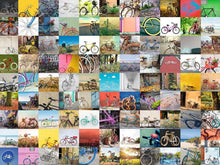 Load image into Gallery viewer, Ravensburger 1500pc 99 Bicycles