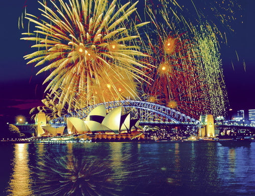 Ravensburger 1000pc Fireworks Over Sydney Harbour