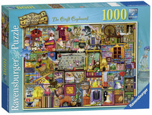 Load image into Gallery viewer, Ravensburger 1000pc Colin Thompson - Craft Cupboard