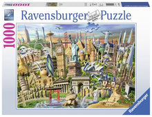 Load image into Gallery viewer, Ravensburger 1000pc World Landmarks