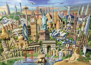 Ravensburger 1000pc World Landmarks