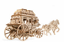Load image into Gallery viewer, UGears Stagecoach