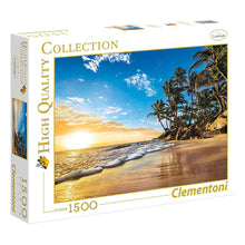 Load image into Gallery viewer, Clementoni 1500pc Tropical Sunrise