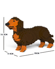 Load image into Gallery viewer, Jekca: Dachshund (brown)