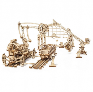 UGears Rail Manipulator: Mechanical Town