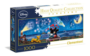 Clementoni 1000pc Panorama Disney Mickey and Minnie