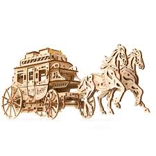 UGears Stagecoach