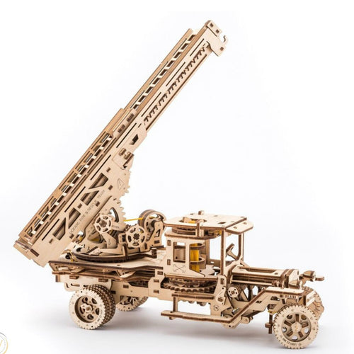 UGears Fire Ladder Truck