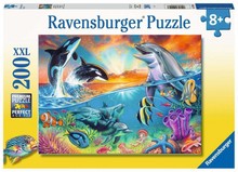 Load image into Gallery viewer, Ravensburger 200pc Ocean Wildlife