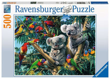 Load image into Gallery viewer, Ravensburger 500pc Koalas in a Tree