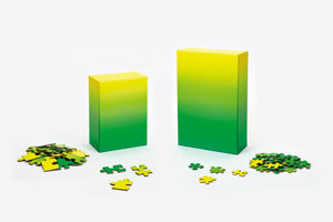 Areaware Gradient 100pc Puzzle Yellow/Green