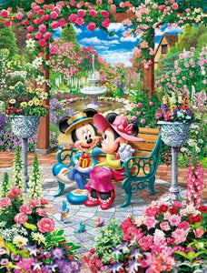 Tenyo 500pc Disney Blooming Royal Garden Puzzle