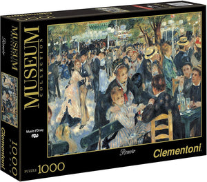 Clementoni 1000pc Dance at Le moulin - Renoir