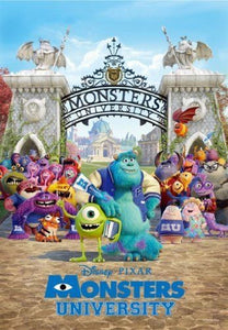 Tenyo 500pc Monsters University - Campus Life Puzzle