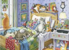 Load image into Gallery viewer, Ravensburger Large Format 500pc Cat Nap