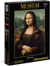 Load image into Gallery viewer, Clementoni 1000pc Mona Lisa - Leonardo