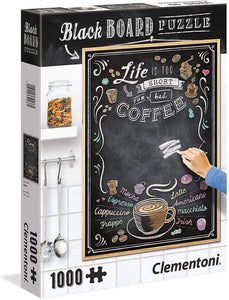 Clementoni 1000pc Blackboard Coffee