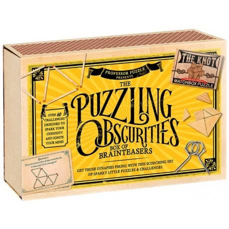Professor Puzzle: Puzzling Obscurities