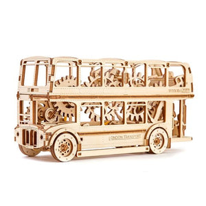 Wooden City: London Bus
