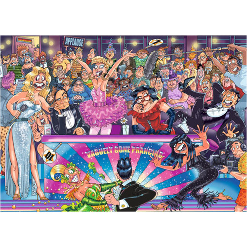 Wasgij 1000pc Original #30 Strictly Can't Dance