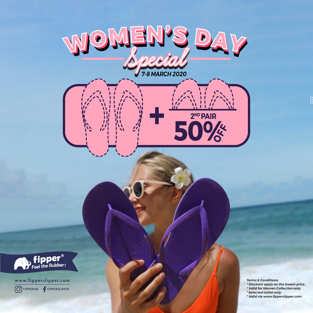 Women Day Special: 2nd Pair Get 50% OFF