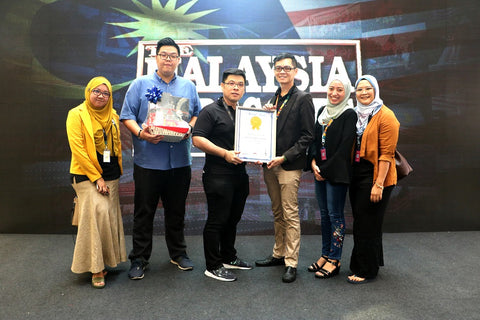 Fipper Recognized by The Malaysia Book of Record