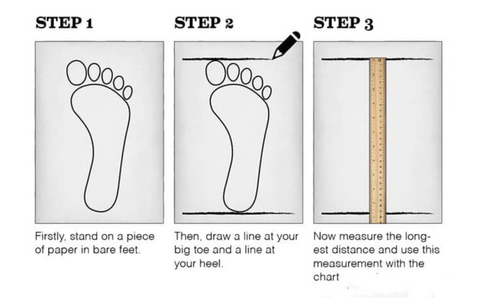 Measure Your Fipper Size