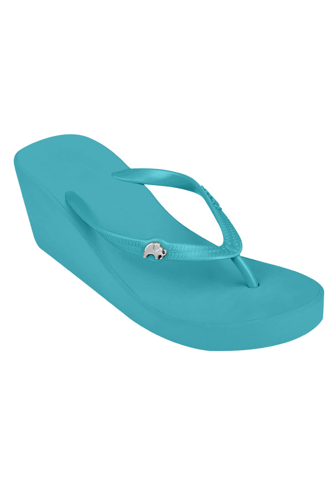 Fipper Wedges Turquoise