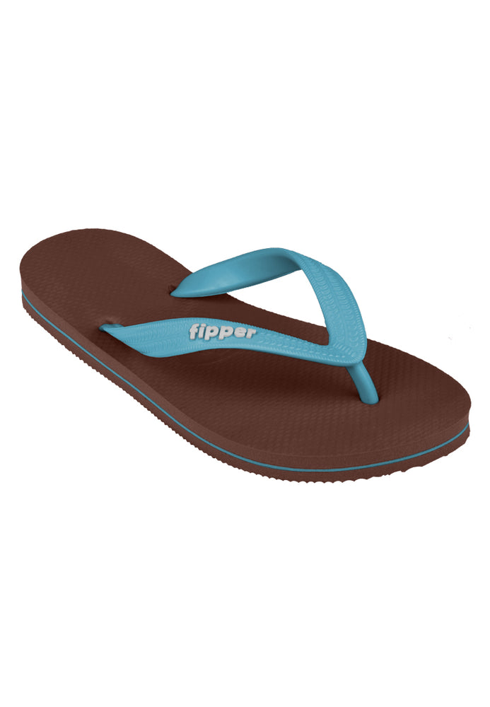 Fipper Slick Brown (Havana) / Blue (Sky)