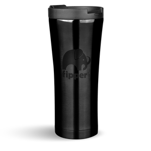 Load image into Gallery viewer, Fipper Drinkware Flask Black