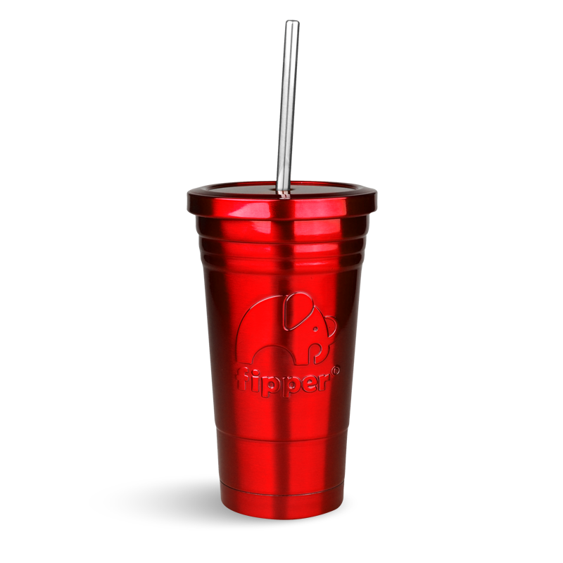 Fipper Drinkware Tumbler Red