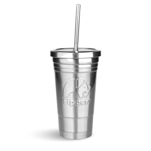 Load image into Gallery viewer, Fipper Drinkware Tumbler Silver