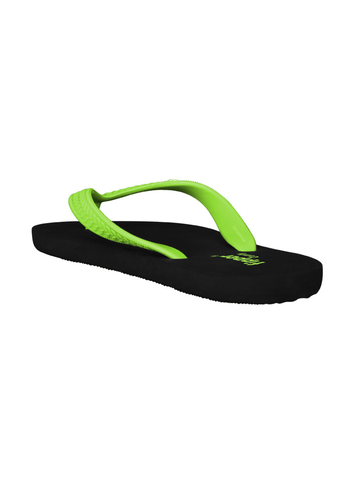 Load image into Gallery viewer, Fipper Comfy Black / Green (Apple)