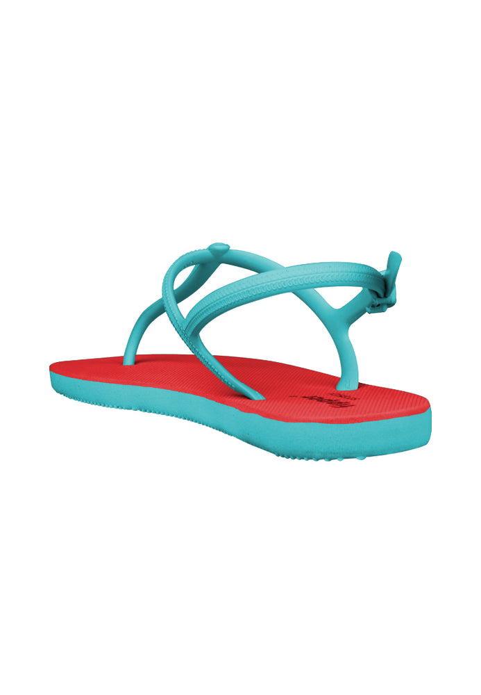 Fipper Strappy Red / Turquoise