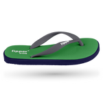 Fipper Wide Green (Atlantis) / Blue (Navy) / Grey