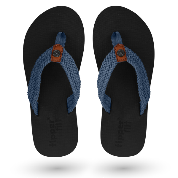 Fipper Fitt Black / Blue (Snorkel)