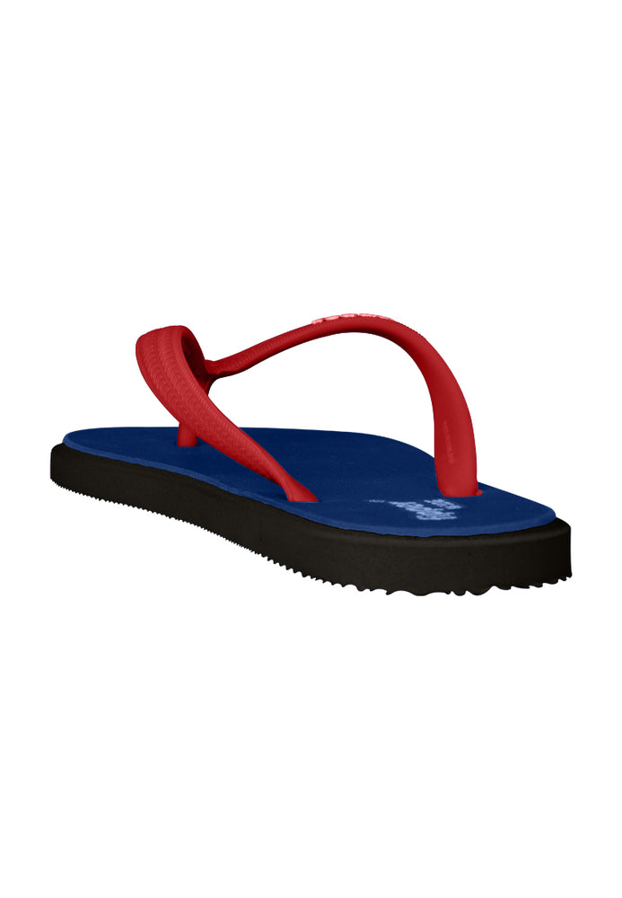 Fipper Wide Blue (Royal) / Black / Red