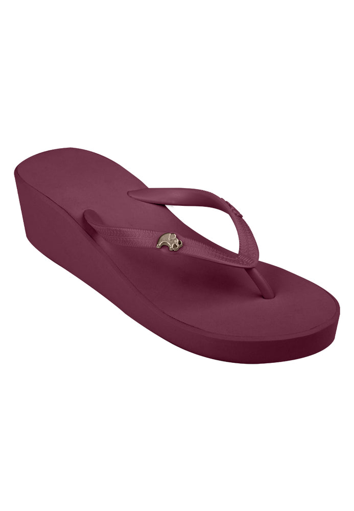 Load image into Gallery viewer, Fipper Wedges-S Burgundy
