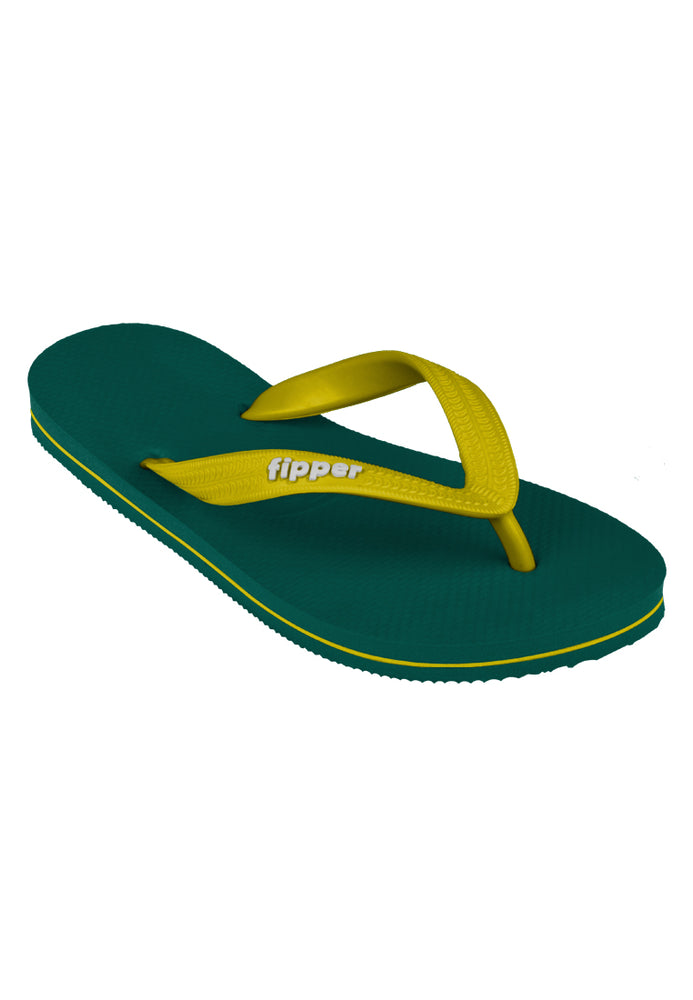 Fipper Slick Green (Emerald) / Yellow (Soft)