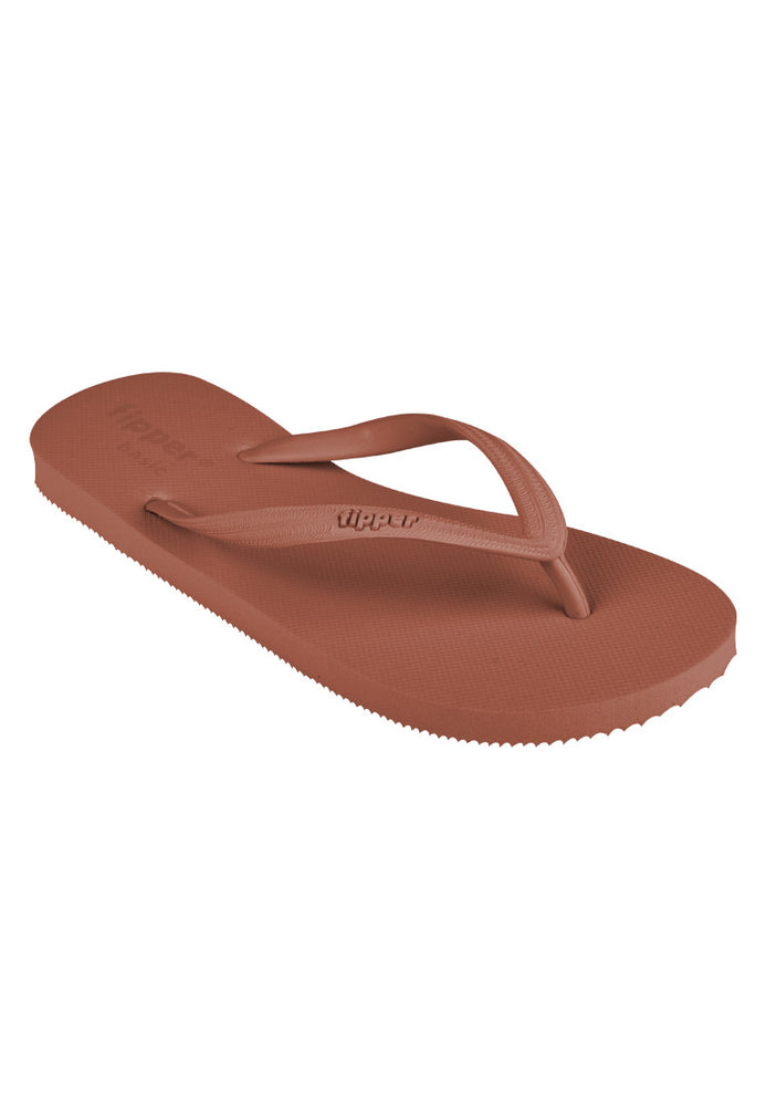 Fipper Basic S Rubber for Women in Brown