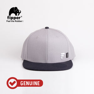 Load image into Gallery viewer, Fipper Snapback Cap 20Seven Grey (Light) / Blue (Charcoal)