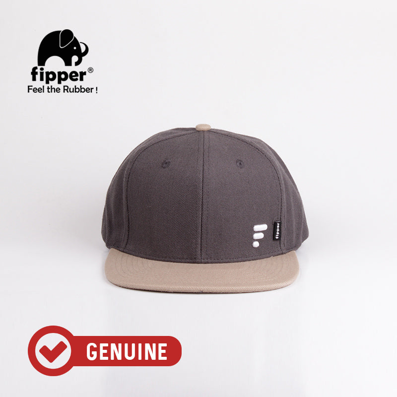 Fipper Snapback Cap 20Seven Grey (Dark) / Brown (Almond)