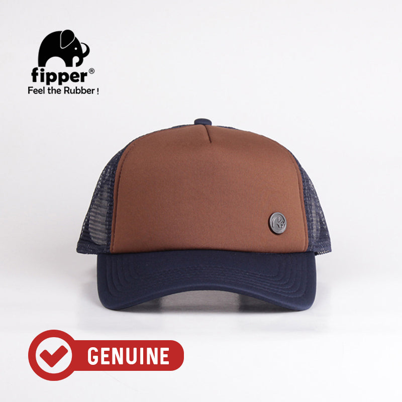 Fipper Trucker Cap 29Seven Brown (Dark) / Blue (Charcoal)