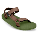 Fipper Trekker Green (Army) / Brown (Dark)