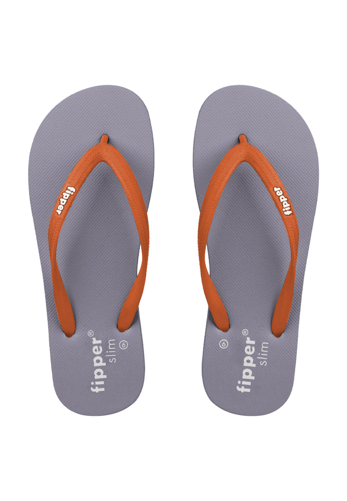 Fipper Slim Grey (Tan) / Orange (Mai Tai)