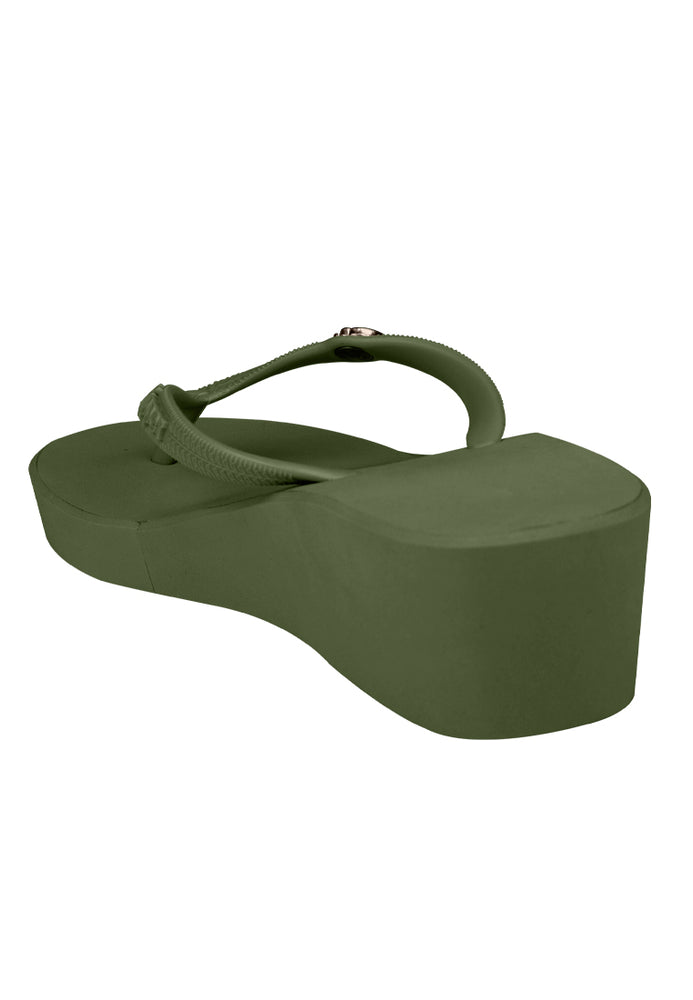 Fipper Wedges-S Green (Army)
