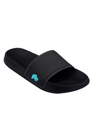 Load image into Gallery viewer, Fipper Slip On Black / Turquoise for Men