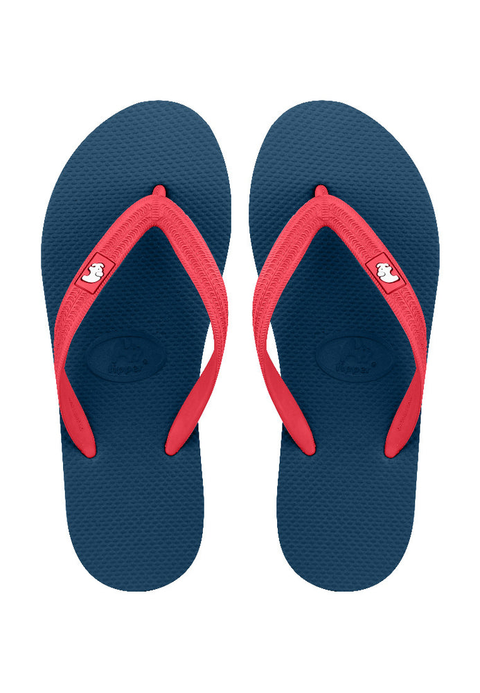 Fipper Walker Blue (Snorkel) / Red