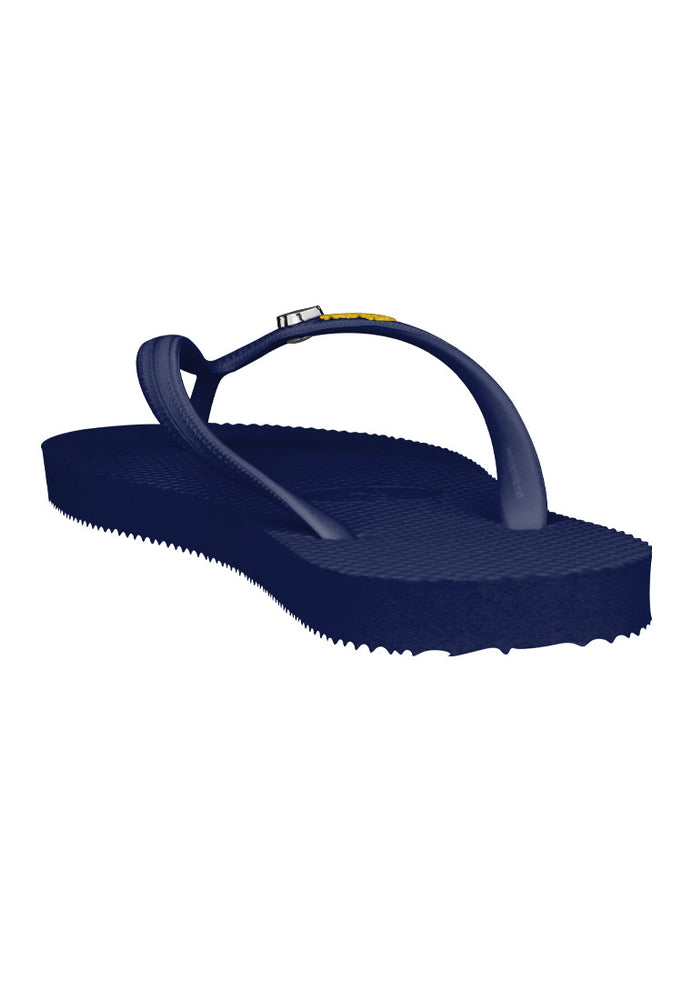 Fipper Glitter Rubber for Women in Navy / Yellow