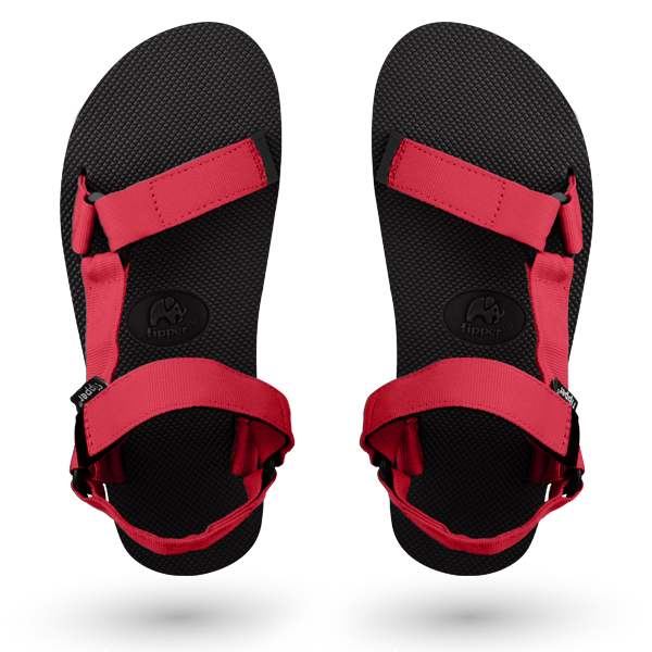 Fipper Trekker Black / Red